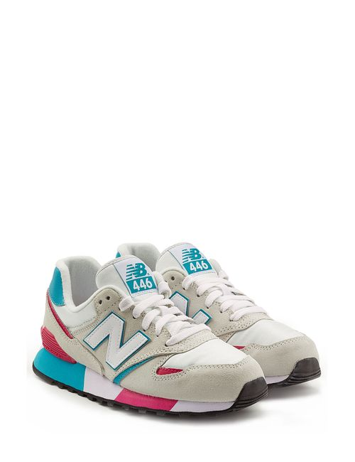New Balance | Женское Бежевый Colorblock Suede Sneakers Gr. 5