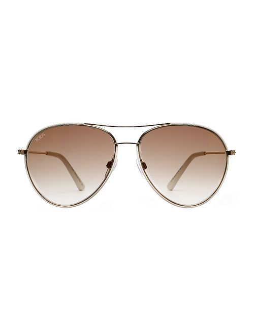 Tod'S | Женское Золотой To0155 Aviator Sunglasses Gr. One Size