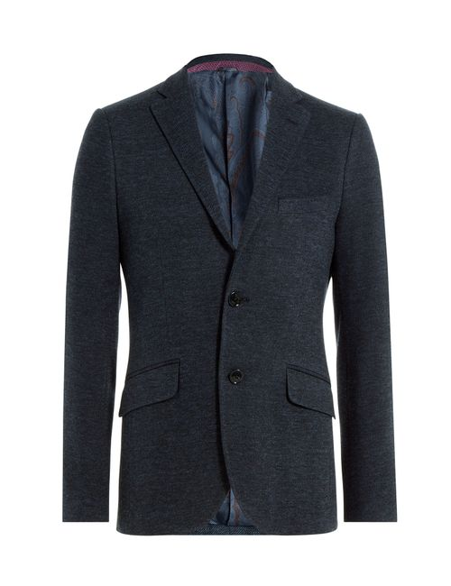 Etro   Мужское Синий Cotton Blend Blazer Gr. 46