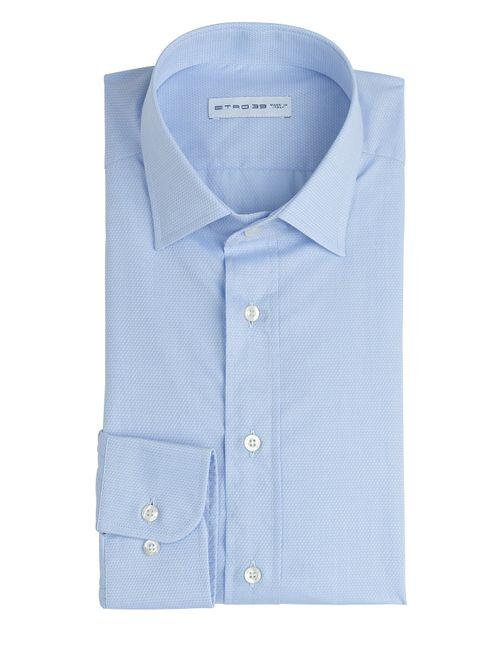 Etro | Мужское Синий Cotton Shirt Gr. Eu 41