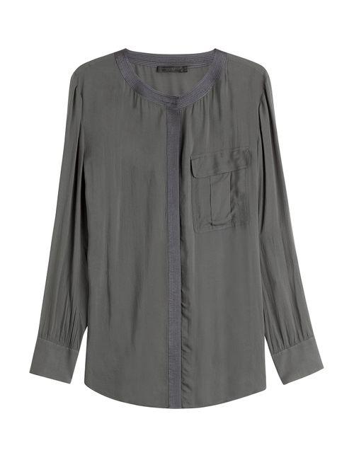 Donna Karan New York | Женское Серый Blouse Gr. 36
