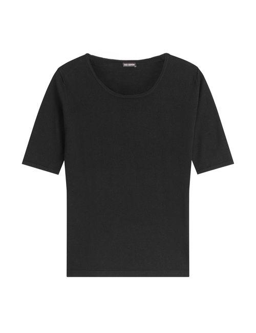 IRIS VON ARNIM | Женское Чёрный Wool Top With Cashmere Gr. Xs
