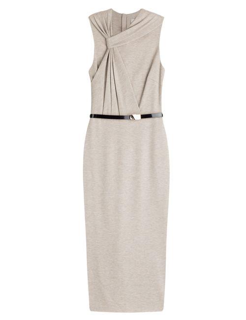 Jason Wu | Женское Серый Draped Sheath Dress Gr. 34