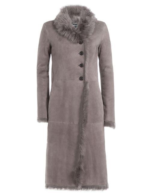 Joseph | Серый Shearling Coat Gr. 36
