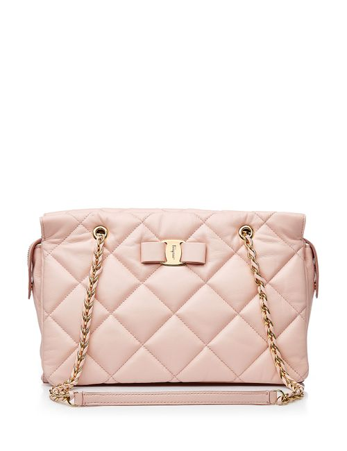 Salvatore Ferragamo | Женское Rosa Medium Ginette Quilted Leather Shoulder Bag Gr.