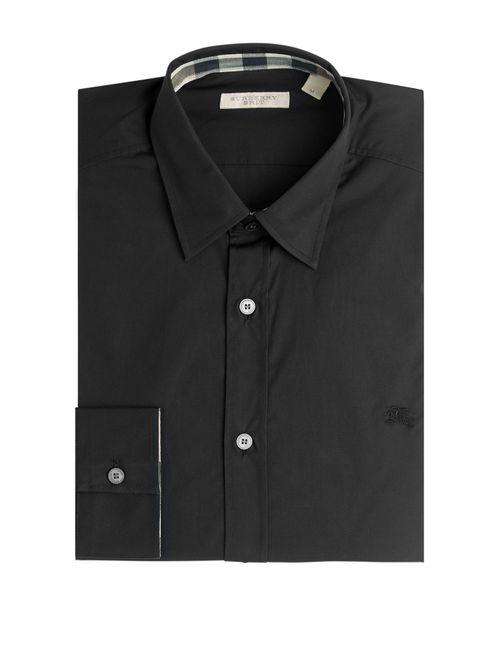 Burberry Brit | Мужское Чёрный Cotton Shirt Gr. Xxl
