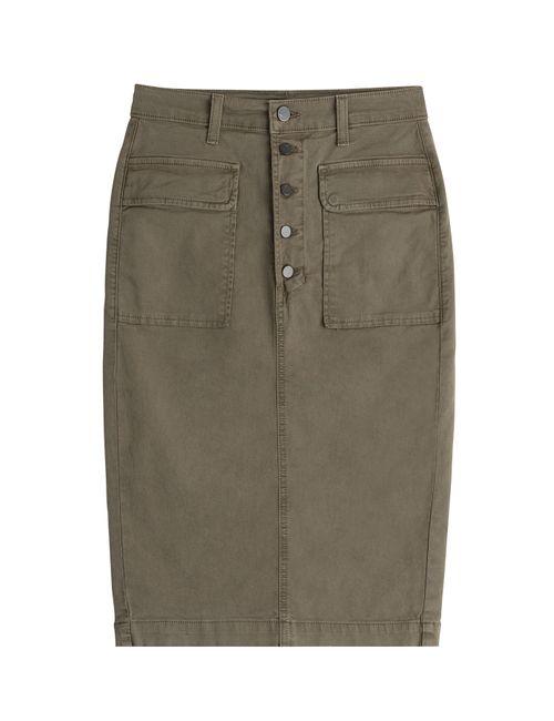J Brand Jeans | Женское Зелёный Cotton Skirt Gr. 30