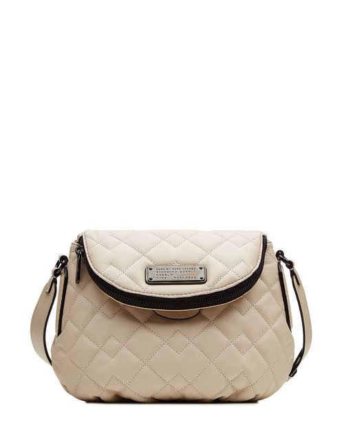 Marc by Marc Jacobs | Женское Бежевый New Q Quilted Mini Natasha Leather Shoulder