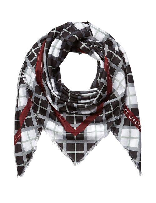 Marc by Marc Jacobs | Женское Чёрный Cotton-Silk Printed Scarf Gr. One Size