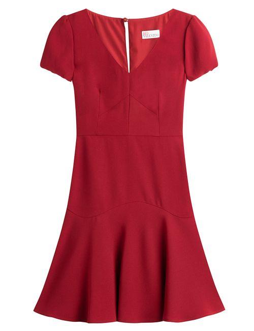 Red Valentino   Женское Красный Flared Dress Gr. 38