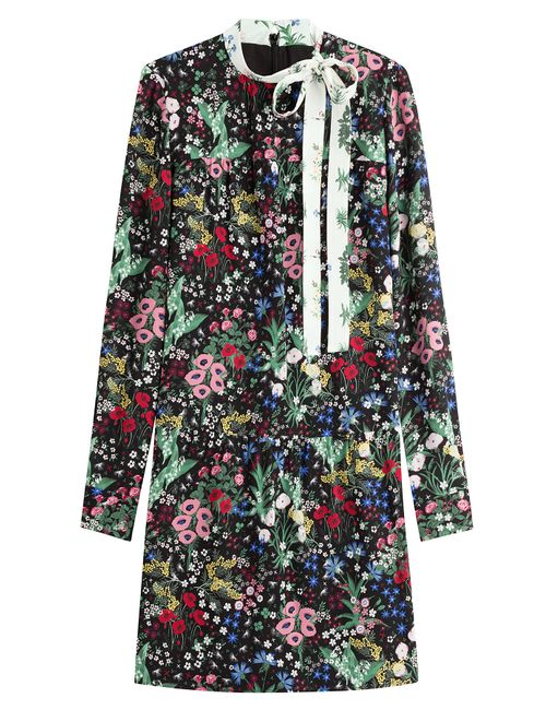 Valentino | Женское Многоцветный Printed Silk Dress Gr. It 44