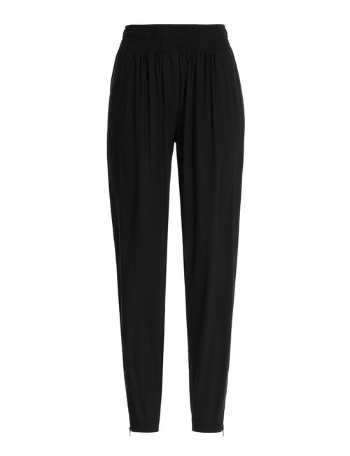 Donna Karan New York | Женское Чёрный Crepe Pants With Zippers Gr. M