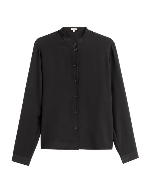 Kenzo | Женское Чёрный Silk Blouse Gr. Fr 42