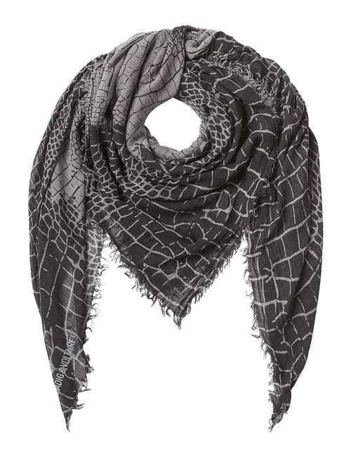Zadig & Voltaire | Серый Printed Scarf Gr. One Size