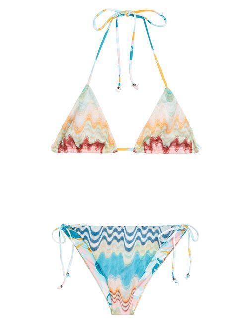 Missoni Mare | Женское Многоцветный Multicolor Knit Triangle Bikini Gr. 34