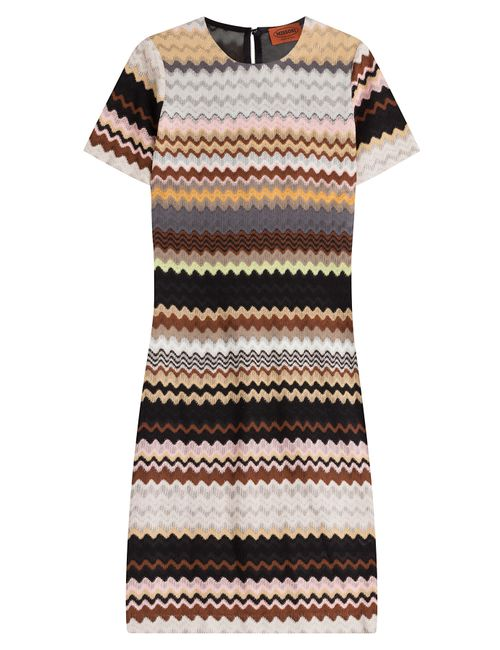 Missoni | Женское Многоцветный Crochet Knit Dress With Wool Gr. It