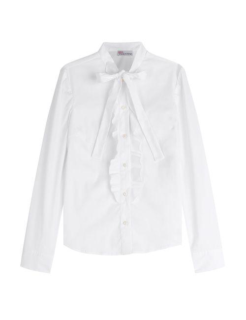 Red Valentino | Женское Белый Cotton Blend Shirt Gr. It 42