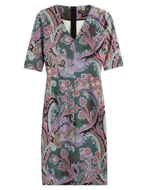 Etro | Женское Многоцветный Printed Dress With Wool Gr. 34