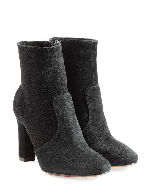 L' Autre Chose | Женское Черный Suede Ankle Boots Gr. 36