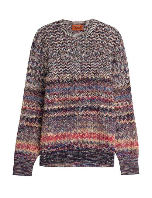 Missoni | Мужское Многоцветный Wool Pullover Gr. Eu 50