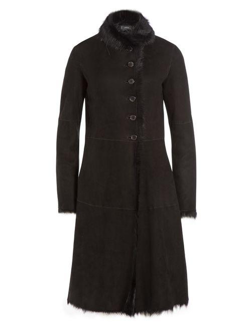 Joseph | Чёрный Shearling Coat Gr. Fr 44