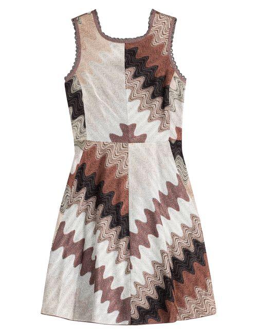 Missoni   Женское Многоцветный Dress With Lace-Up Back Gr. 38