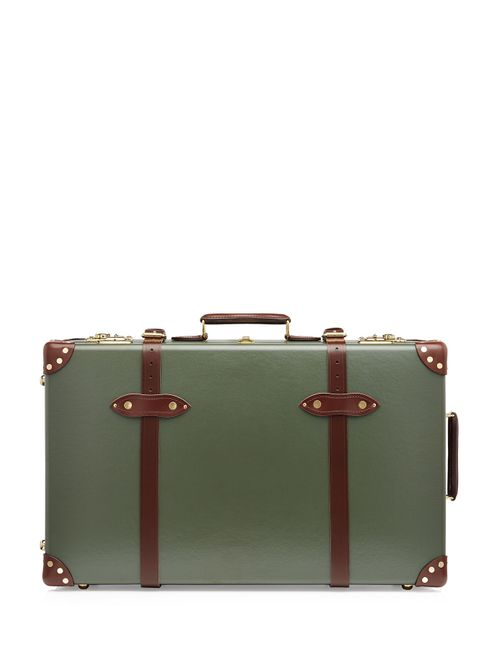 Globe-Trotter | Зелёный Centenary 28 Trolley Case With Leather Gr.