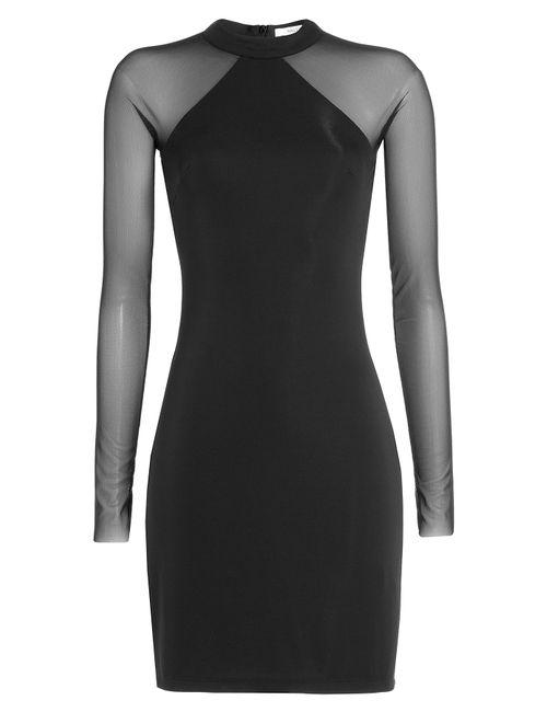 Bailey 44 | Женское Чёрный Sheer Paneled Cocktail Dress Gr. L