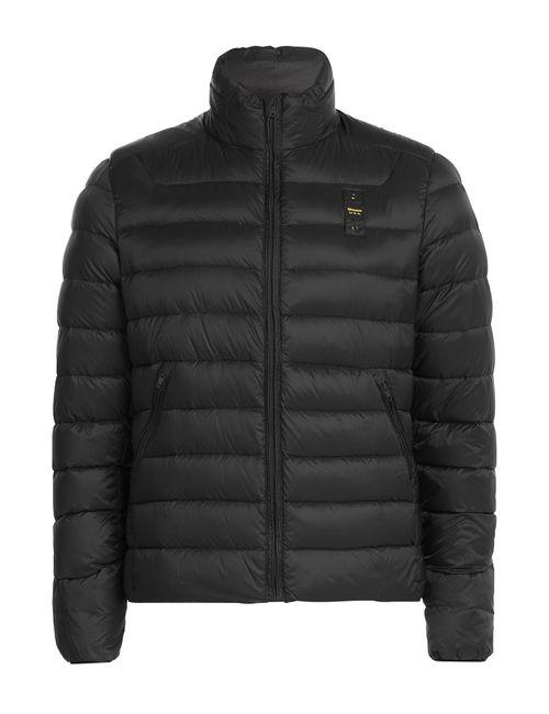 Blauer | Мужское Чёрный Quilted Down Jacket Gr. Xl