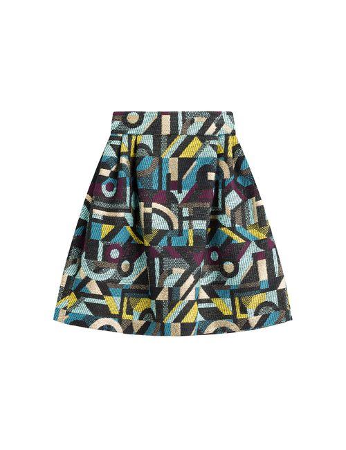 Olympia Le-Tan | Женское Многоцветный Printed Skirt Gr. 34