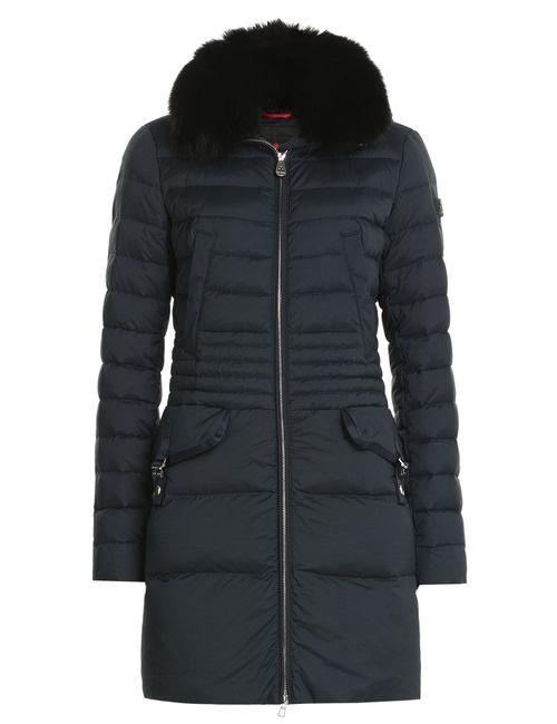 Peuterey | Женское Синий Ryan Ks Down Coat With Fox Fur