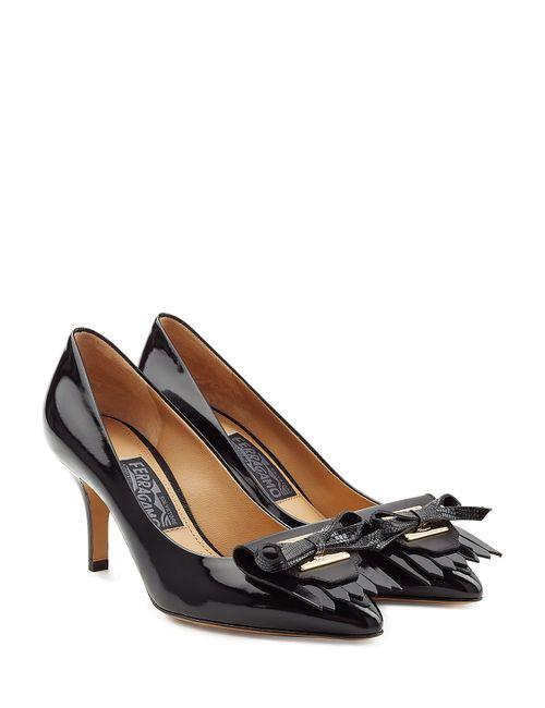 Salvatore Ferragamo | Женское Чёрный Nika Patent Leather Pumps Gr. 5
