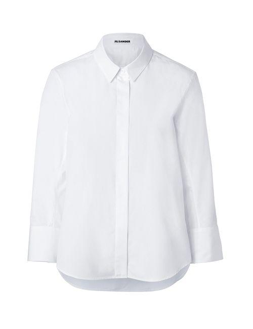 Jil Sander | Женское Белый Cotton Shirt Gr. 34