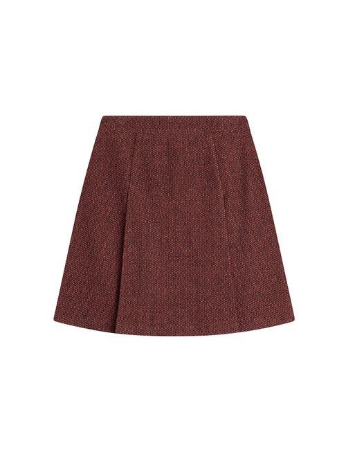 A.P.C.   Женское Красный Flared Wool Skirt Gr. 34