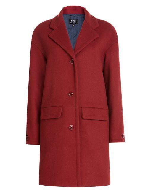 A.P.C. | Женское Красный Wool Coat Gr. Xs