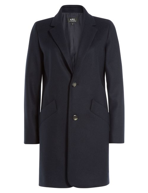 A.P.C. | Женское Синий Wool Coat Gr. Xs