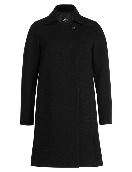 A.P.C. | Женское Чёрный Wool Coat Gr. Xs