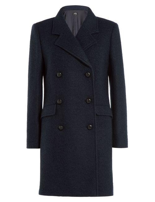 A.P.C. | Женское Синий Wool Coat Gr. M