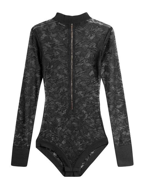 Balmain | Чёрный Lace Body Gr. 36