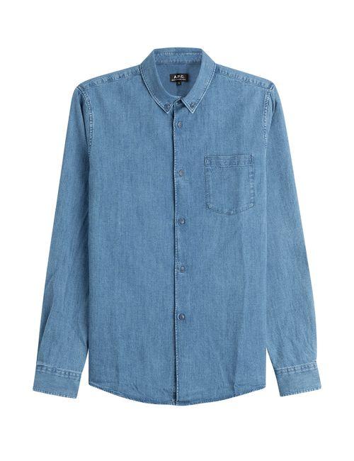 A.P.C. | Синий Denim Shirt Gr. M