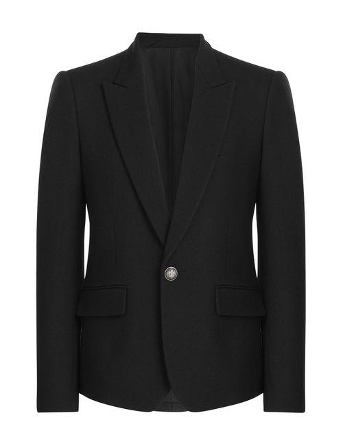 Balmain | Мужское Чёрный Wool Blazer Gr. 48