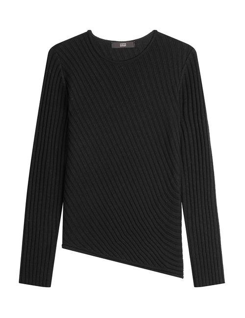 Steffen Schraut | Женское Чёрный Merino Wool Pullover Gr. De 36