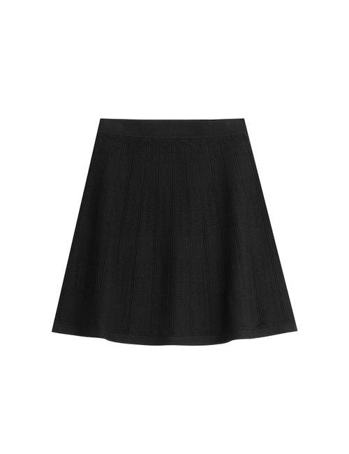 Steffen Schraut | Женское Чёрный Osaka Check Skirt Gr. 32