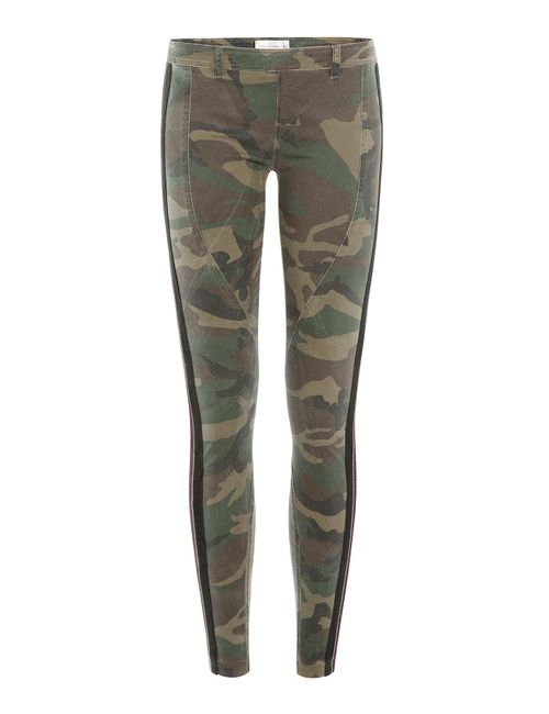 Faith Connexion | Женское Многоцветный Camouflage Print Skinny Pants Gr. Fr 42
