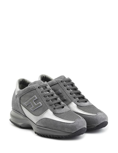 Hogan | Женское Серый Suede Platform Sneakers Gr. It 385