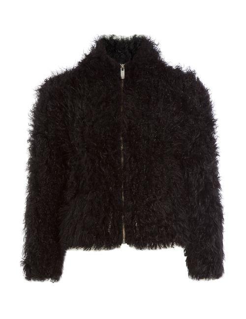 Iro   Женское Чёрный Kald Shearling Jacket Gr. Fr 36