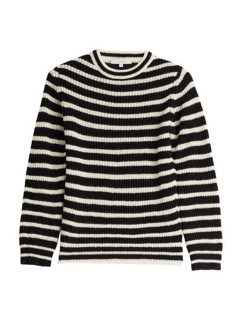 Iro | Женское Gestreift Striped Pullover With Alpaca And Wool Gr.