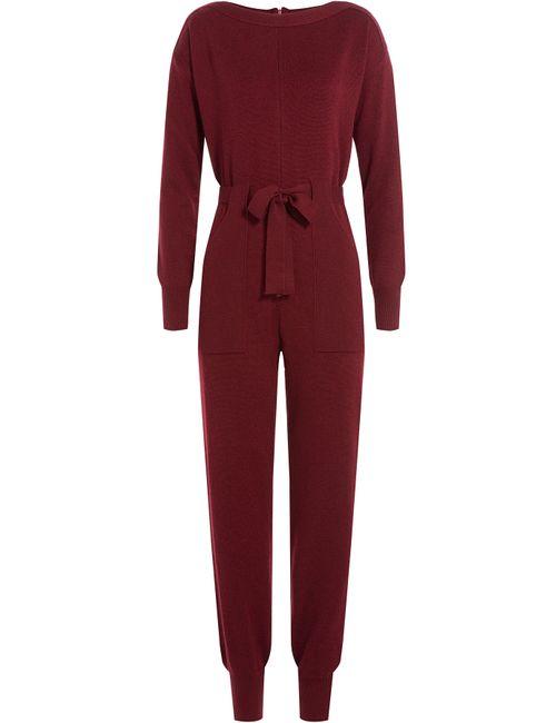 Philosophy di Lorenzo Serafini | Женское Красный Wool Jumpsuit Gr. 38