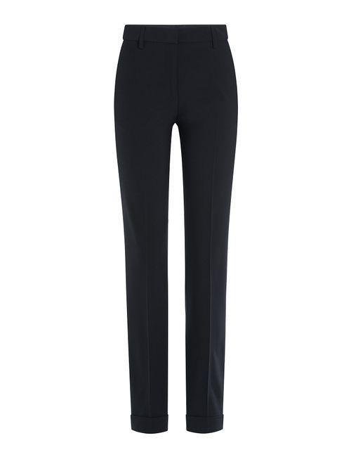 Jil Sander | Женское Синий Virgin Wool Pants Gr. 34