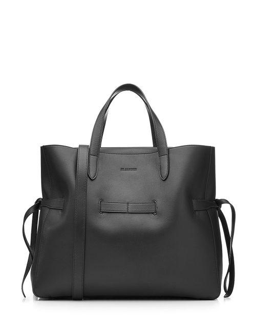 Jil Sander | Женское Чёрный Leather Tote Gr. One Size
